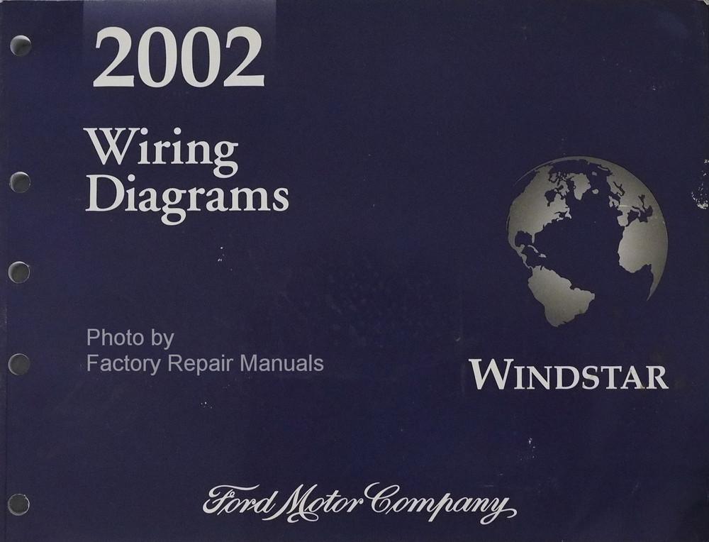 2002 Ford Windstar Electrical Wiring Diagrams Original Manual