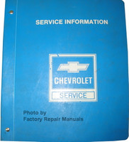 1983 Chevrolet Celebrity/Citation II Shop Manual