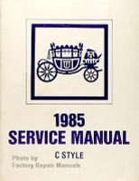 1985 Fisher Service Manual C Style