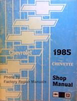 Chevrolet 1985 Cavalier Shop Manual