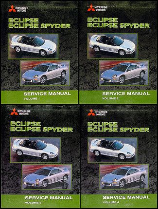 2001 mitsubishi eclipse and eclipse spyder factory service manual rh factoryrepairmanuals com 2001 mitsubishi eclipse service manual download 2001 mitsubishi eclipse service manual download