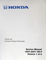 1997-2001- Honda CR-V Service Manual Front View