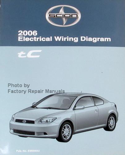 2006 scion tc electrical wiring diagrams original toyota manual rh factoryrepairmanuals com 07 Scion tC Specs 07 Scion tC Spoiler
