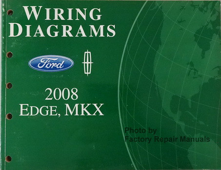 2008 ford edge and lincoln mkx electrical wiring diagrams original rh factoryrepairmanuals com 2008 ford edge stereo wiring diagram 2008 ford edge radio wiring diagram