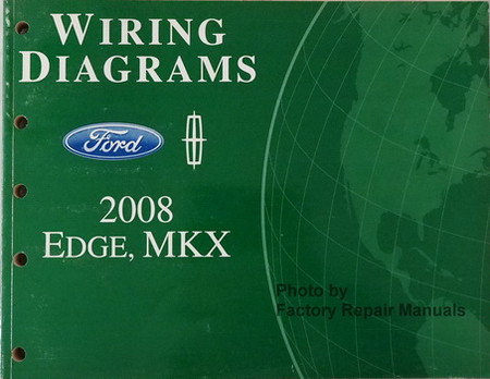 2008 ford edge and lincoln mkx electrical wiring diagrams. Black Bedroom Furniture Sets. Home Design Ideas