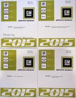 2015 Enclave, Traverse & Acadia Factory Service Manual Set - Original Shop Repair