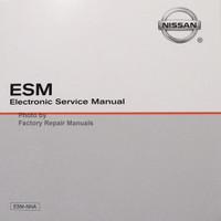 2015 Nissan  NV 1500 2500 3500 Van Electronic Service Information ESM