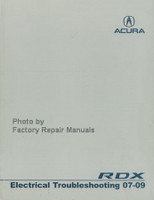 Acura RDX Electrical Troubleshooting Manual 07-09