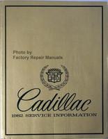 Cadillac 1982 Service Information