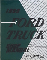 1959 Ford Truck Shop Manual