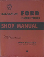 1949-50-51-52 Ford F-Series Trucks Shop Manual