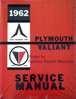 1962 Savoy, Belvedere, Fury Plymouth & Valiant Service Manual