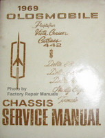 1969 Oldsmobile F85, Vista Cruiser, Cutlass, 442 Delta 88, 98, Tornado Chassis Service Manual