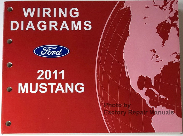 2011 Ford Mustang  U0026 Shelby Gt500 Electrical Wiring