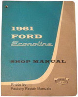1961 Ford Econoline Shop Manual