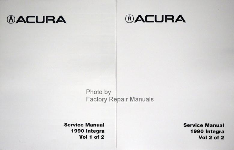 1990 acura integra shop service manual factory reprint factory rh factoryrepairmanuals com Dodge Factory Service Manual Dodge Factory Service Manual