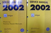 Service Manual 2002 Oldsmobile Intrigue Volume 1, 2
