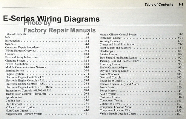 2006 ford e 150 wiring diagram 2006 ford econoline van wagon e150 e250 e350 e450 ... e550 ford e 150 wiring diagram manuals