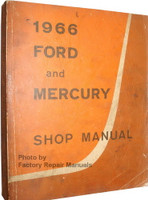 1966 Ford and Mercury Shop Manual
