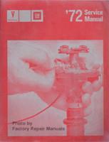 1972 Pontiac Service Manual