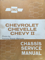 1965 Chevrolet Chevelle Chevy II Service Manual