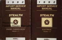 1992 Service Manual Stealth Volume 1, 2