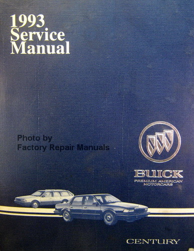 2002 buick century repair manual pdf