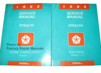 1995 Service Manual Stealth Volume 1, 2
