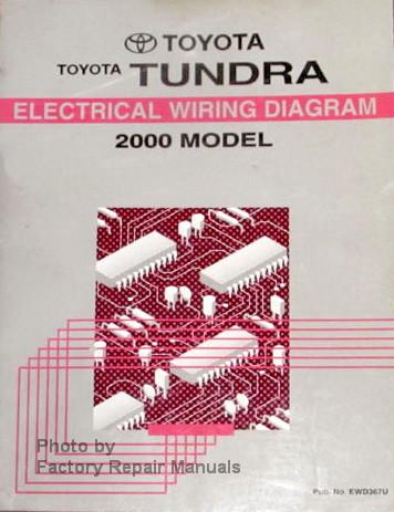 2000 toyota tundra truck electrical wiring diagrams original manual rh factoryrepairmanuals com 2000 tundra radio wiring diagram 2000 tundra trailer wiring diagram