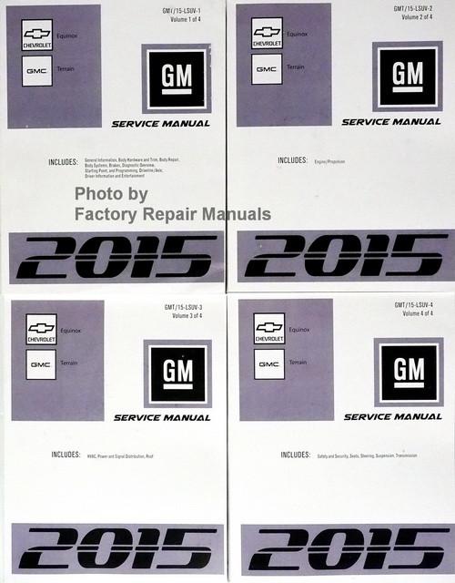 2015 chevy equinox gmc terrain factory service manual original rh factoryrepairmanuals com 2011 gmc terrain service manual 2011 gmc terrain service manual