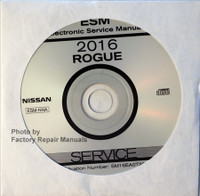 2016 Nissan Rogue Service Information CD