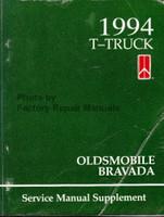 1994 T-Truck Oldsmobile Bravada Service Manual Supplement
