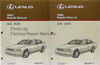 Lexus 1993 Repair Manuals GS 300