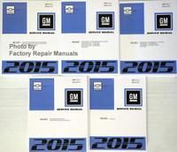 Chevrolet Cruze GM Service Manual 2015 Volume 1, 2, 3, 4, 5