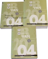 Pontiac Aztec Buick Rendezvous B Van 2004 Service Manual Volume 1, 2, 3