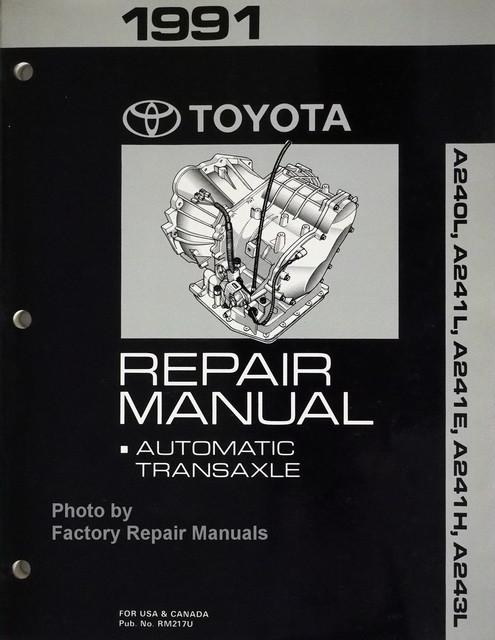 1991 toyota celica corolla mr2 automatic transmission repair rh factoryrepairmanuals com 91 Toyota MR2 Specs 15 Inch Rims On 91 Toyota MR2