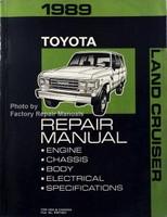 1989 Toyota Land Cruiser Factory Repair Manual