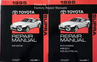 1995 Toyota Supra Repair Manuals Volume 1, 2