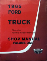 1965 Ford Truck Shop Manual Volume 1, 2, 3