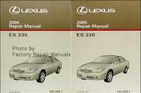2005 Lexus ES330 Factory Service Manual Set Original Shop Repair