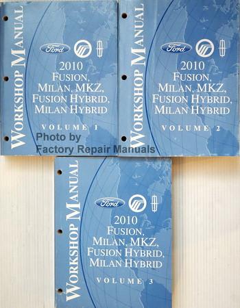 2010 fusion milan mkz gas and hybrid factory shop service manual rh factoryrepairmanuals com 2010 ford fusion hybrid repair manual 2010 ford fusion service manual pdf