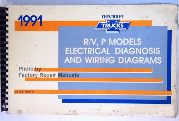 1991 chevy suburban blazer p30 r v 3500 pickup electrical diagnosis rh factoryrepairmanuals com