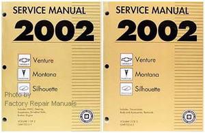 2002 chevy venture olds silhouette pontiac montana factory shop rh factoryrepairmanuals com 2004 chevy venture repair manual 2002 chevy venture repair manual pdf free