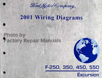 Ford 2001 Wiring Diagrams F-250, 350, 450, 550, Excursion