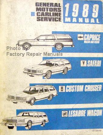 1989 caprice estate wagon custom cruiser safari factory shop service rh factoryrepairmanuals com 2000 Impala Interior 2000 Chev Capri