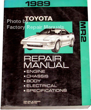 toyota mr2 workshop manual online user manual u2022 rh pandadigital co Nissan 240SX 2013 Toyota MR2 Spyder