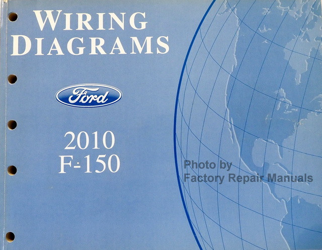 2010 Ford F150 Truck Electrical Wiring Diagrams Factory Manual New