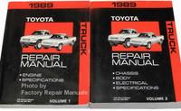 1989 Toyota Truck Repair Manuals