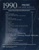 1990 Ford Probe Shop Manual