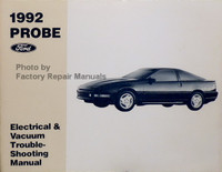 1992 Ford Probe Electrical & Vacuum Troubleshooting Manual